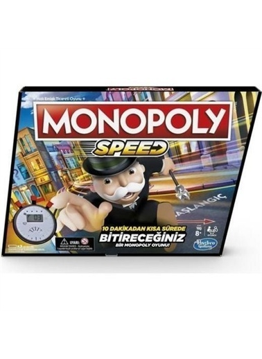 Beta Kids Monopoly Speed Renkli
